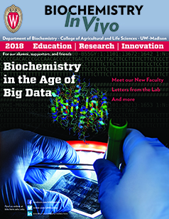 2018 Biochemistry Newsletter Cover