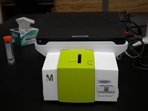 Picture of Direct Detect IR Spectrophotometer