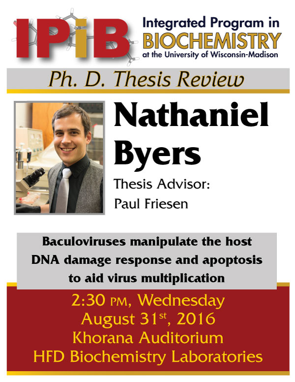 Poster for Nathaniel Byers thesis review