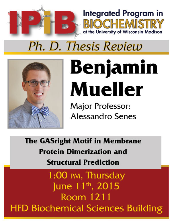 Ben Mueller Thesis Review