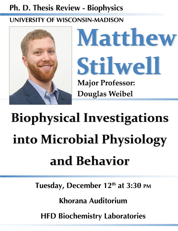 Matthew Stilwell thesis review poster