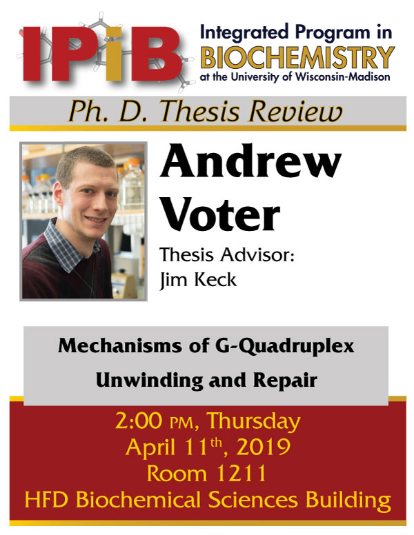 Andrew Voter thesis review poster