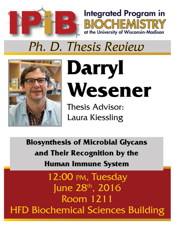 Poster for Wesener thesis review
