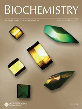 photo of Biochemistry journal cover