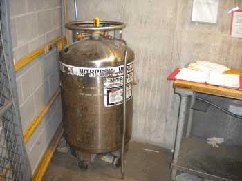 Loading Dock Liquid Nitrogen Photo