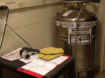 Room 3406 Liquid Nitrogen Photo