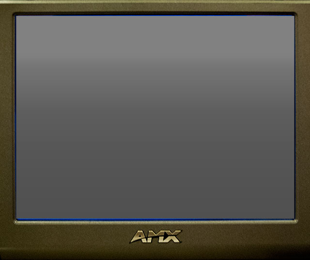 Image of AMX controller sleep window