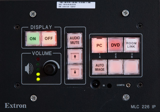 photo of interface for dvd
