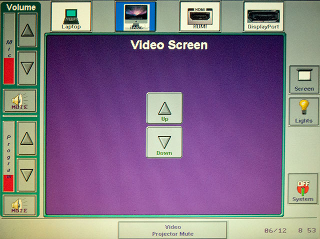 image of screen control