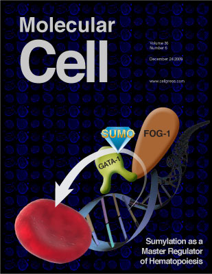 Photo of Molecular Cell cover