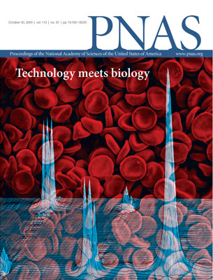 Photo of PNAS cover