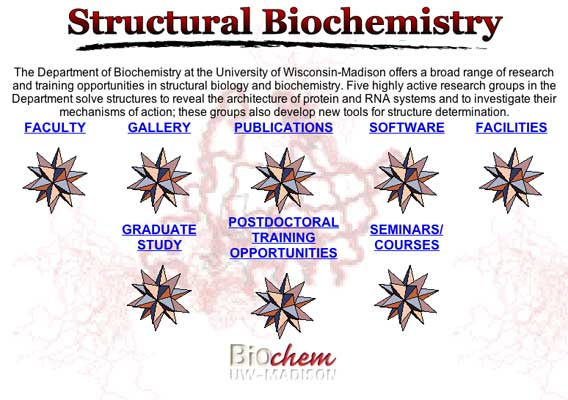 Photo of Structural Biology homepage