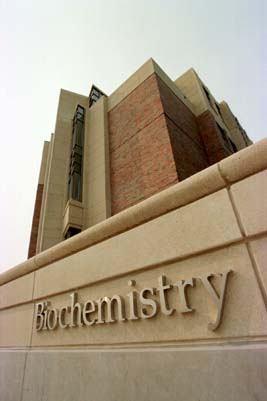 Photo of the Biochemistry Building