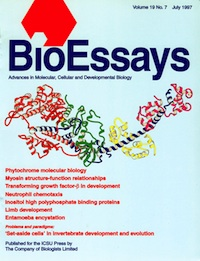 Image of 1997 BioEssays Cover