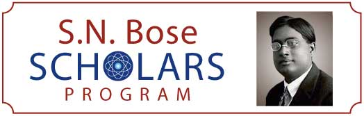 S.N. Bose Scholars Program Logo