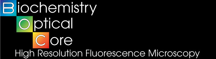Biochemistry Optical Core - High Resolution Fluorescense Microscopy logo