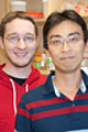 Photo of Paul Goetsch and Seong Min