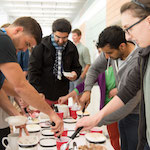 IPiB students enjoy ice cream at their June 8 social
