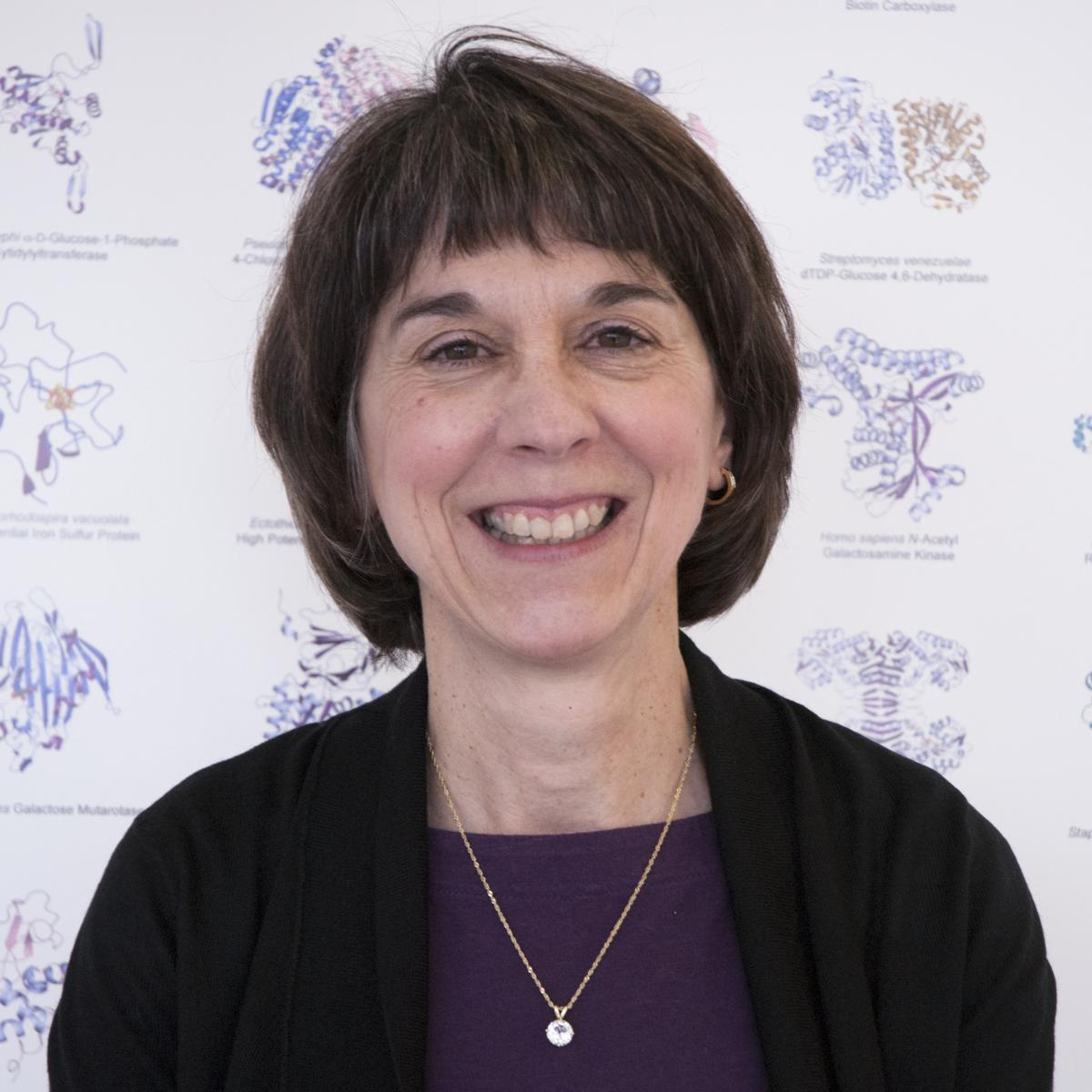 Photo of biochemistry professor Hazel Holden