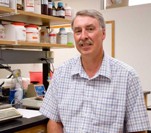 Photo of biochemistry professor Ivan Rayment