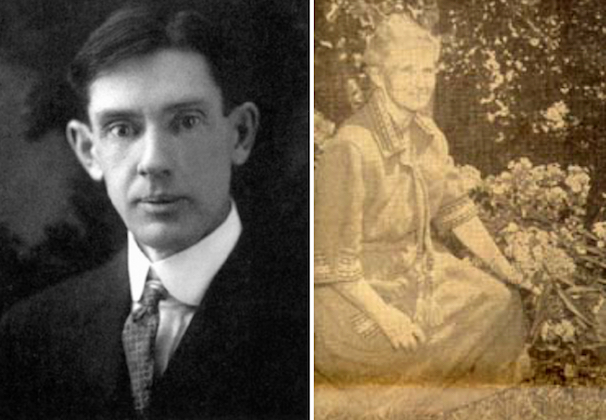 Historical photos of Elmer McCollum and Marguerite Davis