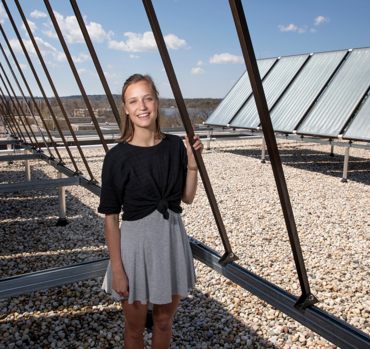 Photo of biochemistry and environmental sciences major Leah Johnson