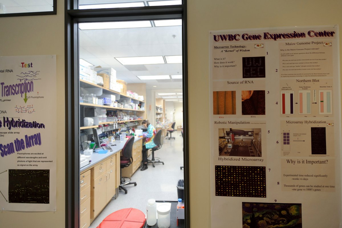 Gene Expression Center at the Genetics-Biotechnology Center Building