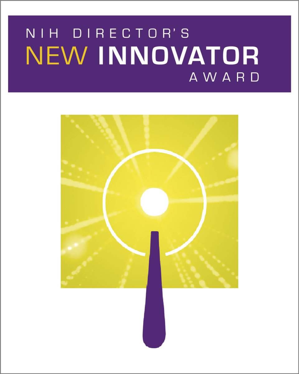 The NIH Director's New Innovator Award graphic