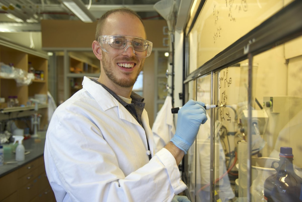 Chemistry professor and biochemistry affiliate Andrew Buller