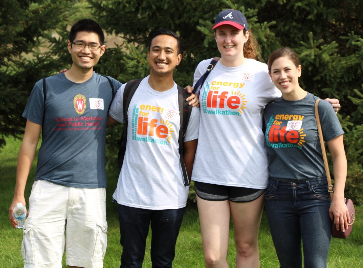 Group of Pagliarini Lab members at the Energy for Life walk