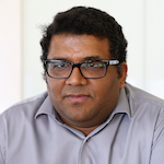 Photo of biochemistry assistant professor Vatsan Raman