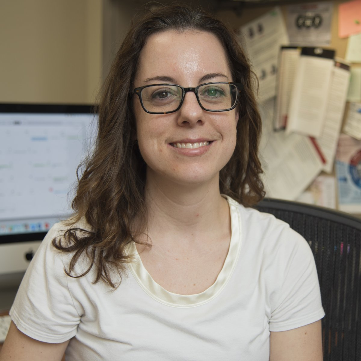 Lynne Prost, biochemistry faculty associate