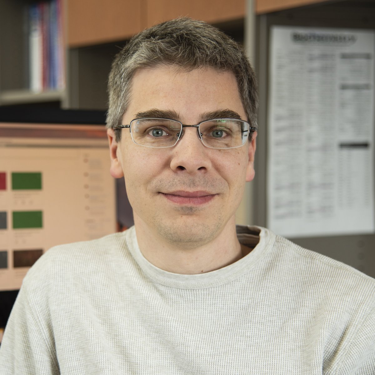 Biochemistry faculty associate Mario Pennella