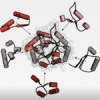 Illustration of protein engineering from the Romero Lab in Biochemistry